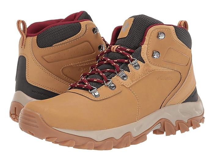 Columbia  Newton Ridge Plus II Waterproof (Curry/Red Jasper) Mens Waterproof Boots
