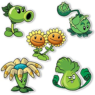 Plants vs. Zombies 2 Wall Decals: Special Plant Set 1 (Five - 4-6 inch Wall Decals)