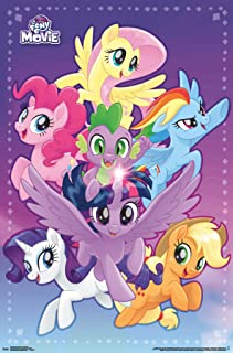 Trends International Little Pony Movie-Adventure Clip Wall Poster, 22.375