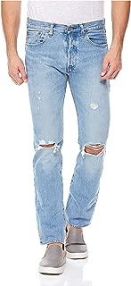 Levi's Men's Ljeans Levi's Ripped Jeans for Men - Light Blue