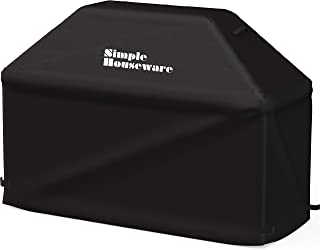 Simple Houseware 72-inch Waterproof Heavy Duty Gas BBQ Grill Cover, Weather-Resistant Polyester