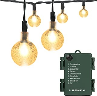 battery operated bulb string lights