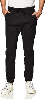 Men's Basic Stretch Twill Jogger Pants - Reg and Big &...
