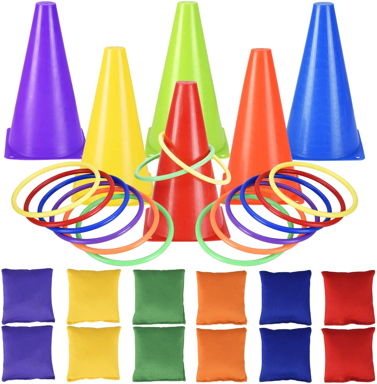 30PCS Carnival Games Bean specialty shop Bag Ring Out for Birthday Toss Max 72% OFF