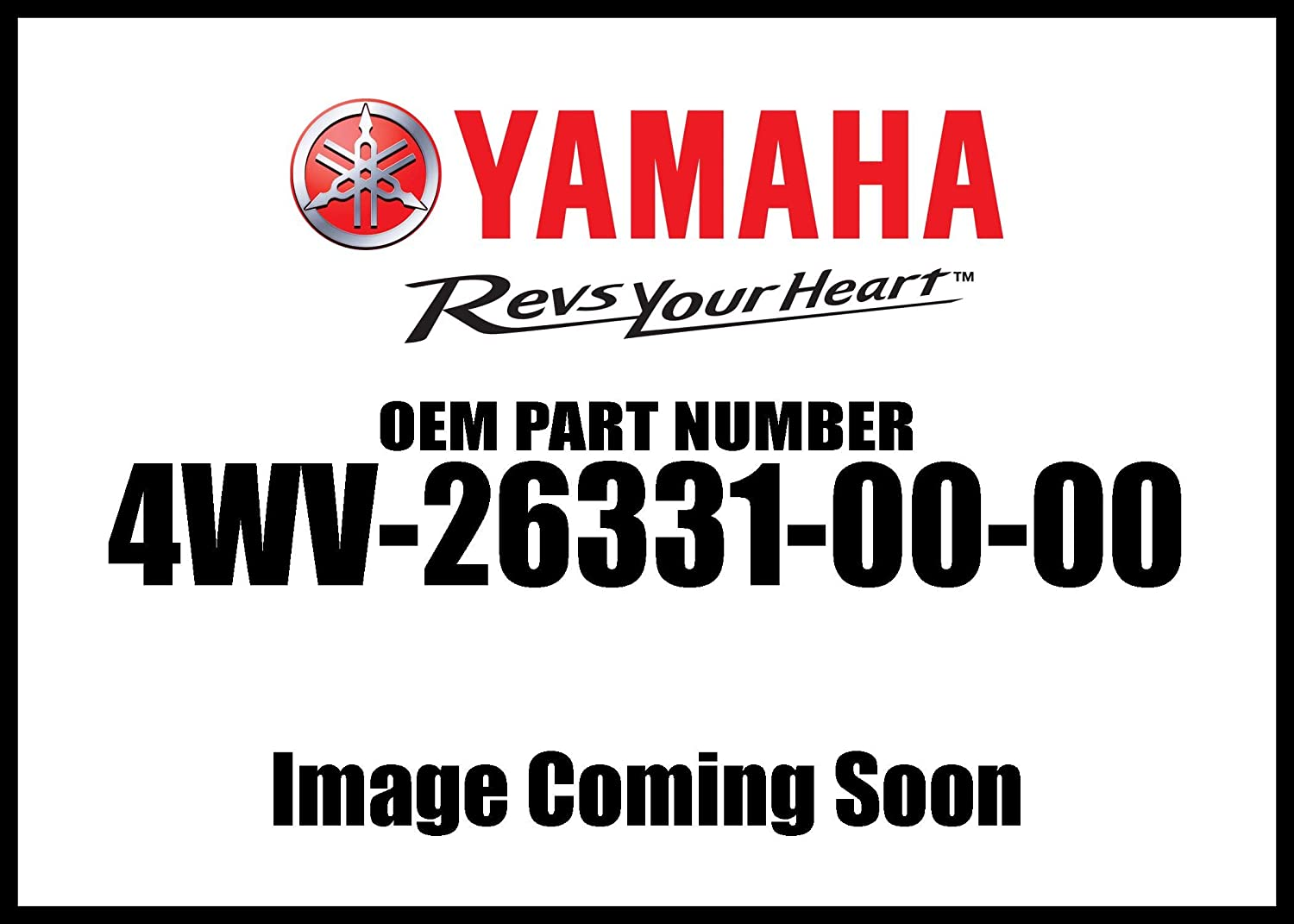 New item Yamaha 4WV263310000 Starter Cable Industry No. 1