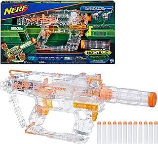 Evader Modulus Nerf Motorized Light-Up Toy Blaster Includes 12 Official Nerf Darts,..