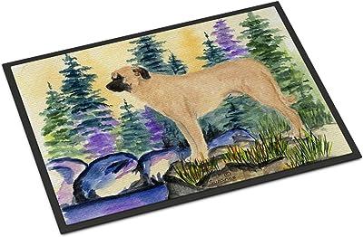 """Caroline's Treasures Anatolian Shepherd Indoor Outdoor Doormat, 18"""" x 27"""", Multicolor"""