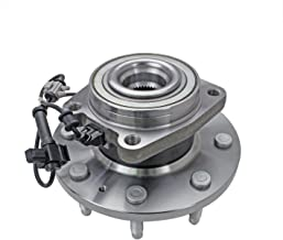 CRS NT620303 New Wheel Bearing Hub Assembly, Front Driver (Left)/ Passenger (Right), for 2011-2016 Chevy Silverado 2500 (HD)/ 3500HD, GMC 2011-2015 Sierra 3500/2011-2016 2500 (HD), 4WD