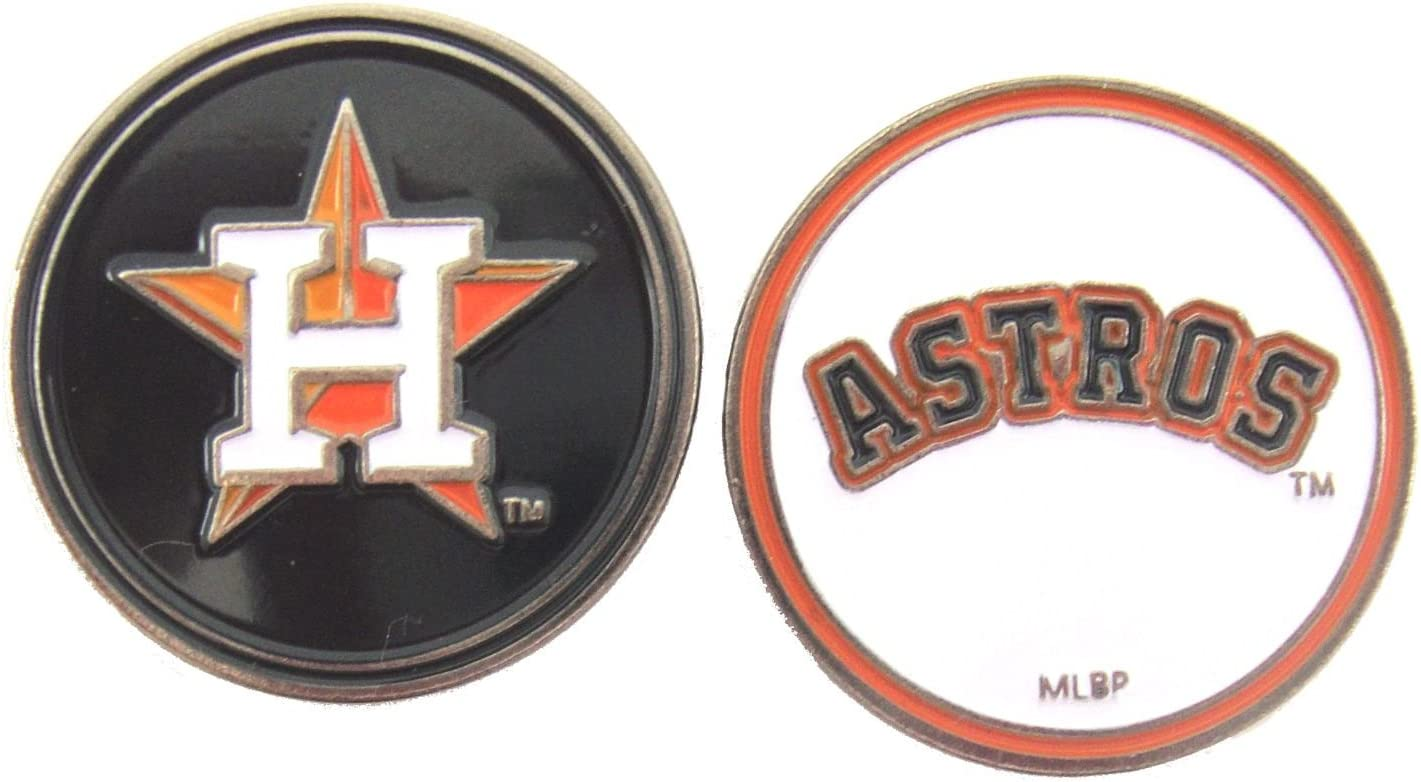 Houston Astros San Popular products Jose Mall Golf Ball Marker 2-Sided