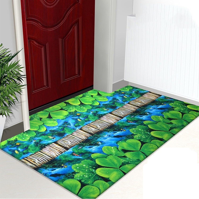 3D color printing door mat Doormat Door mats Doormat Indoor mats Bedroom full of household rectangular mat-J 80x120cm(31x47inch)
