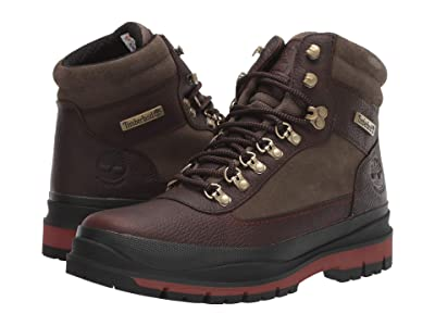 Timberland Field Trekker Waterproof Boot (Dark Brown Full-Grain) Men