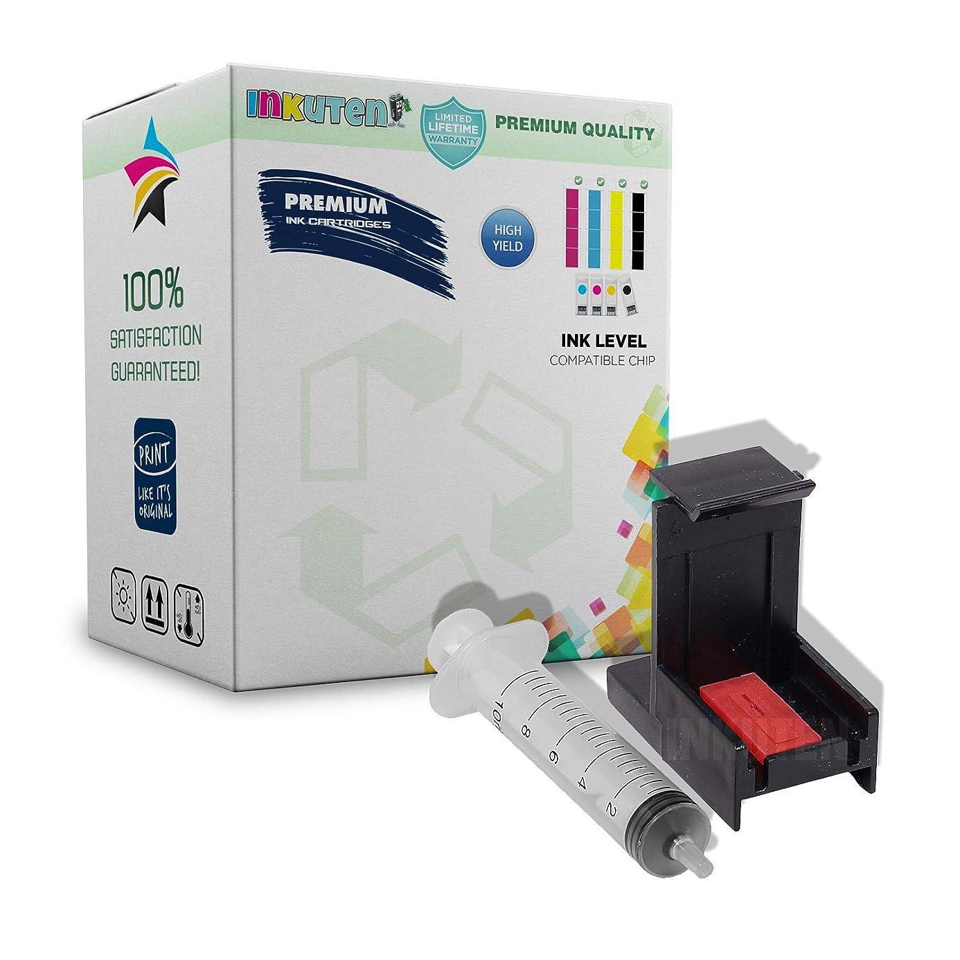 INKUTEN Ink Cartridge Suction Priming Clip for HP 63 61 62 65 64 56 57 21 22 96 97 98 93 92 27 60 Black and Color Inkjet Cartridges znk2635521