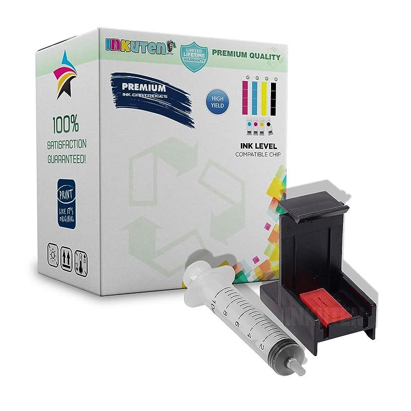 INKUTEN Ink Cartridge Suction Priming Clip for HP 65 XL HP65 (Black & Tri-Color)