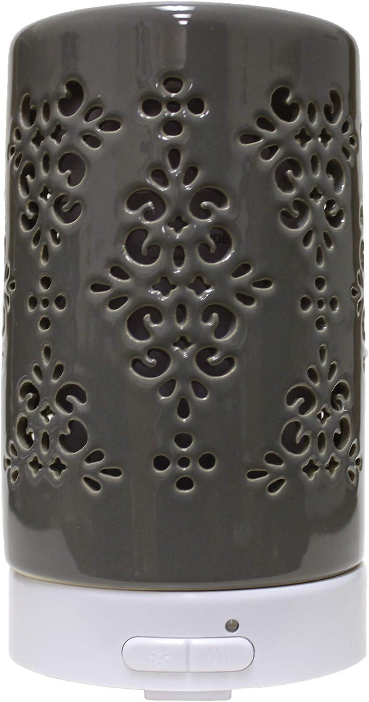 A Cheerful Giver Ceramic Essential Oil - Gray U Cheap bargain Vintage Max 63% OFF Diffuser