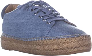Marc Fisher Mandia2 Lace Up Espadrilles Sneakers, Light Blue