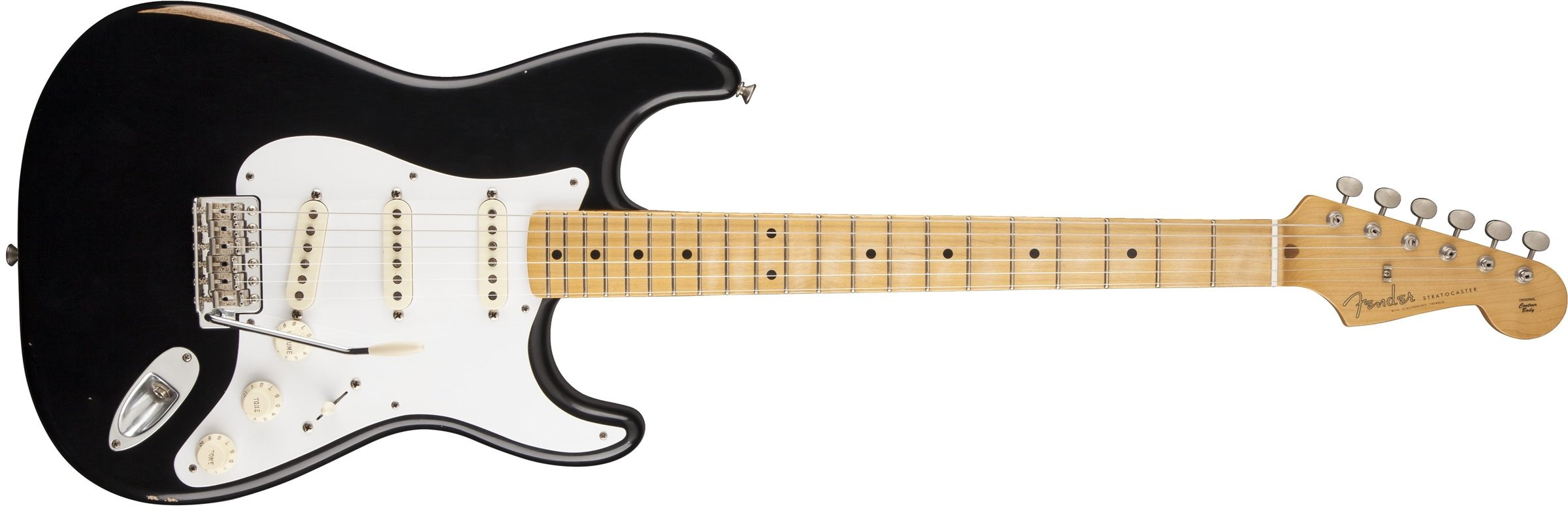 Cheap Fender Road Worn 50s Stratocaster Electric Guitar Black Maple Fretboard Black Friday & Cyber Monday 2019