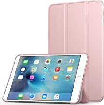 MoKo Case Fit iPad Mini 4 - Slim Lightweight Smart Shell Stand Cover Case with Auto Wake/Sleep Fit Apple iPad Mini 4 (2015 Edition) 7.9 inch iOS Tablet - Rose Gold