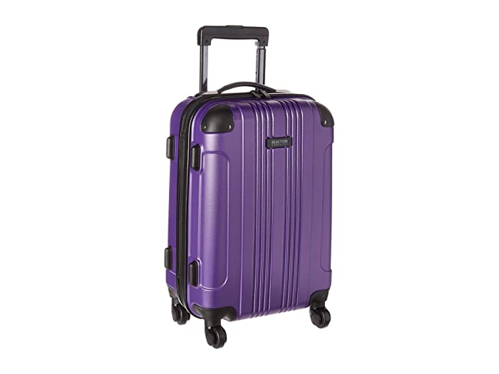 Kenneth Cole Reaction  20 Out of Bounds Lightweight Hardside 4-Wheel Spinner Carry-On Travel Luggage (Purple) Luggage