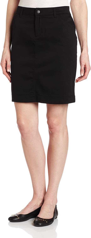 Dickies Women's Genuine Straight Stretch Twill Skirt