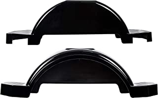ECOTRIC Set of 2 Single Axle Trailer Fenders 13