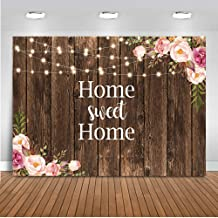 Mocsicka Home Sweet Home Backdrop Housewarming Party Photography Background 7x5ft Vinyl Housewarming Banner Backdrops