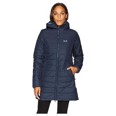 Jack Wolfskin Maryland Insulated Coat (Midnight Blue) Women