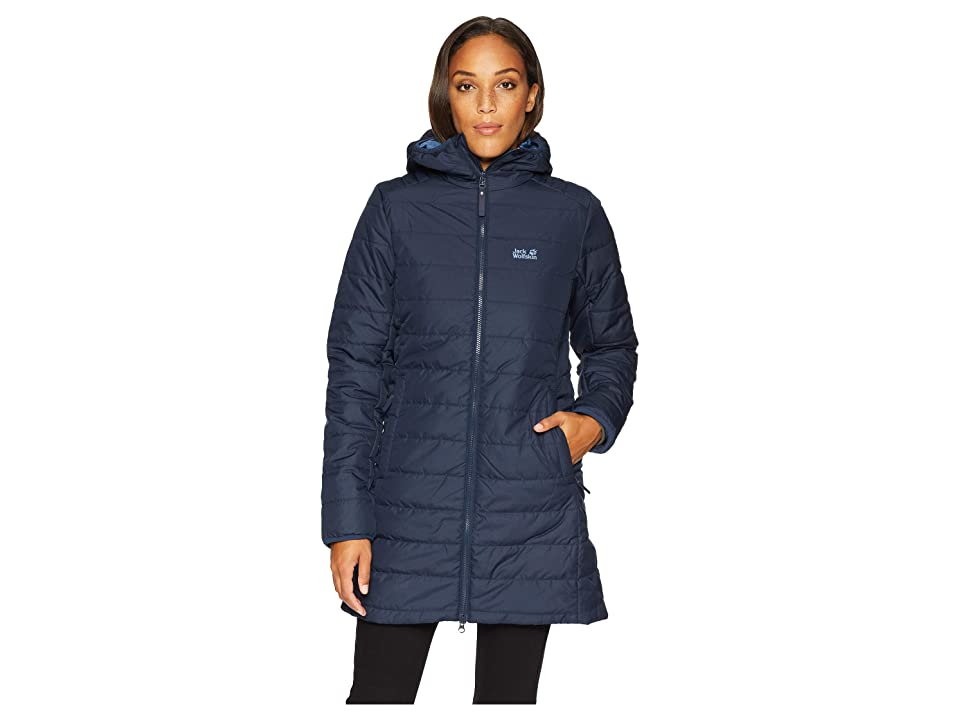 Jack Wolfskin Maryland Insulated Coat (Midnight Blue) Women