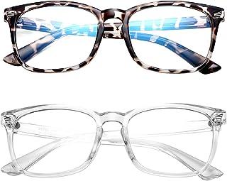 HYCREDI Kids Blue Light Blocking Glasses,Anti Eyestrain & UV Protection, Computer Gaming TV Phone Glasses for Boys Girls