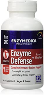 ENZYMEDICA Enzyme Defense Capsules, 120 Count