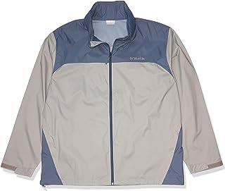 Columbia Men's Glennaker Lake Front-Zip Jacket, Columbia Grey/Mountain, XX-Large