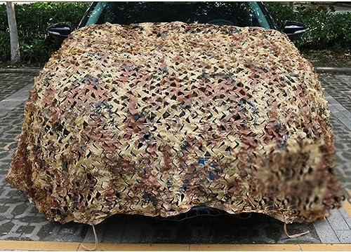 LIANGJUN Filet De Camouflage D'ombrage Coupe-Vent Camping des Bois La Prougeection De La Vie Privée Durable Pliable Intérieur, De Plein Air (Couleur   A, Taille   5x6m)