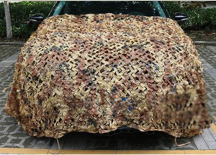 LIANGJUN Filet De Camouflage D'ombrage Coupe-Vent Camping des Bois La Prougeection De La Vie Privée Durable Pliable Intérieur, De Plein Air (Couleur   A, Taille   5x8m)