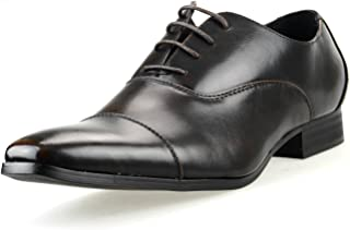 [エムエムワン] ビジネスシューズ メンズ エナメル レースアップ ロングノーズ ドレスシューズ 内羽根 ストレートチップ 大きいサイズ 紳士靴 春 靴 【MPT123SZ-1-KG】 ブラック ダークブラウン ブラックエナメル ホワイトエナメル