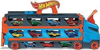 شاحنة النقل والتخزين سبيدواي مع 3 سيارات بمقياس 1:64 للاطفال من 4 الى 8 سنوات من هوت ويلز GVG37
