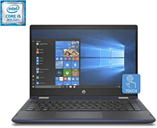 HP Pavilion x360 14-cd0010ns - Ordenador Portátil Convertible (Intel Core i5-8250U, Full HD, 14'', 8GB RAM, 256GB SSD, Int...