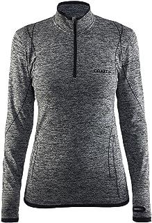 Craft Sportswear Women's Active Comfort Long Sleeve Lightweight Base Layer Zip