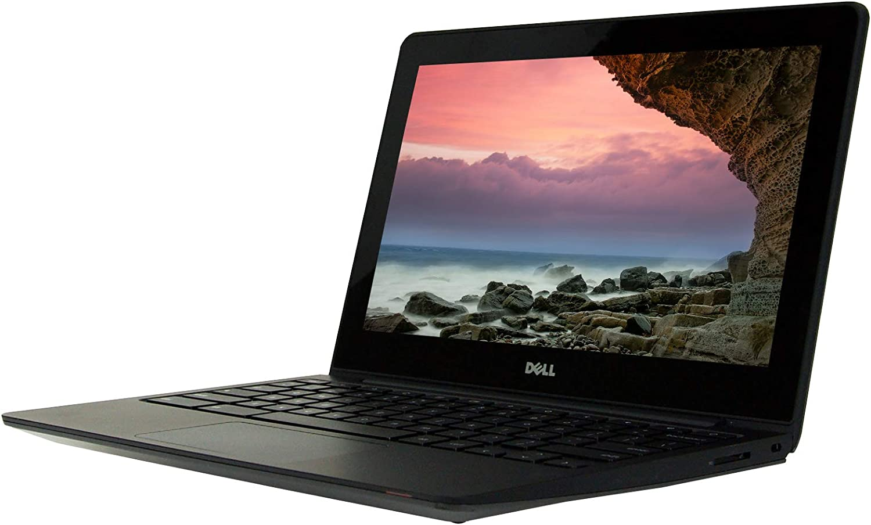Dell Chromebook 11 11.6 inches Laptop, Celeron 2955U 1.4GHz, 2GB Ram, 16GB SSD, Chrome OS, Webcam (Renewed)