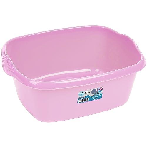 Pink Royle Plastic Rectangular Washing Up Bowl