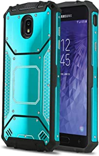 Phone Case for [Samsung Galaxy J7 Star / J7 Crown], [Alloy Series][Blue] Aluminium [Metal Plate] Military Grade Cover for Galaxy J7 Star (Metro, T-Mobile), J7 Crown (Tracfone)
