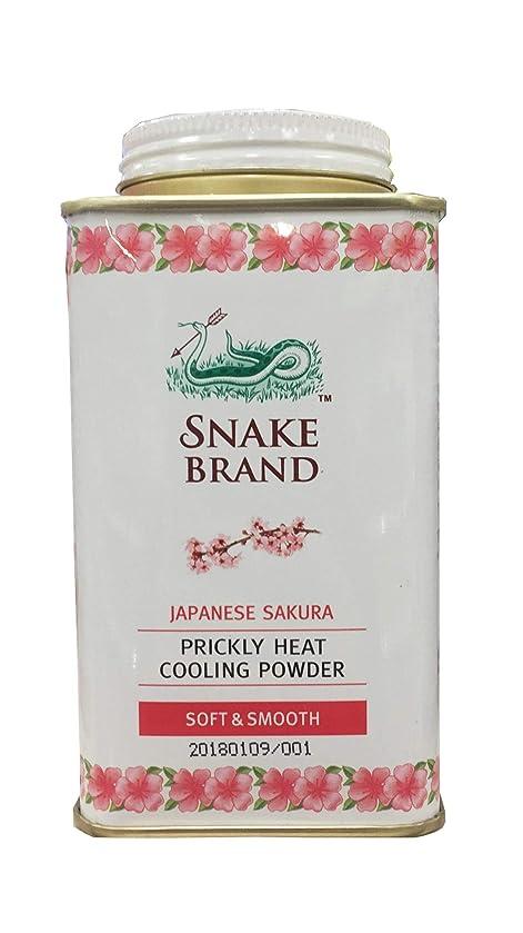 ガラス麺形Prickly Heat Cooling Fresh Refreshing Body Powder Skin Moisture Snake Brand Japanese Sakura Soft Smooth140g ぷらっとヒートクーリングフレッシュリフレッシングボディパウダースキンモイスチャースネークブランド日本さくらソフトスムース140g