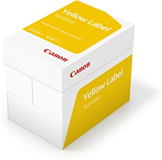 Canon Yellow Label Lot de 5 ramettes de papier 80 g/m² A4