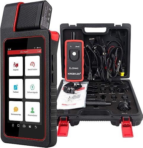 LAUNCH X431 Diagun V Outil d'analyse bidirectionnel Tous les outils de diagnostic du système avec codage ECU, program...