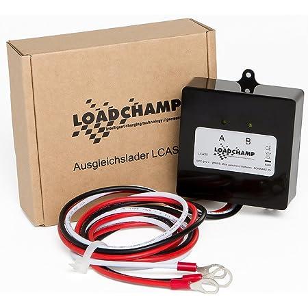 Loadchamp Batterie Ladungsausgleicher Ausgleichslader Elektronik