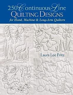 250 Continuous-Line Quilting Designs