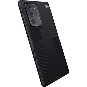 Speck Products Presidio2 Grip Samsung Note20 Ultra Case, Black/Black/White (138604-D143)