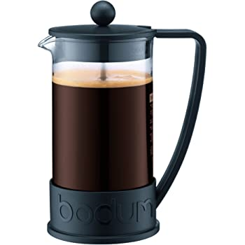 Bodum Brazil French Press Coffee and Tea Maker, 12 Ounce, Black