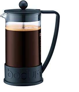 Bodum Brazil French Press Coffee and Tea Maker, 12 Ounce, Black, 10948-01BUS