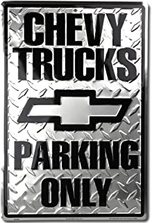 HANGTIME Chevy Truck Parking Sign