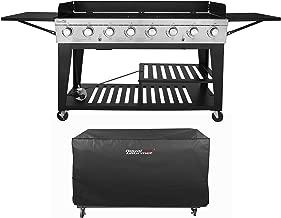 use large propane tank portable grill