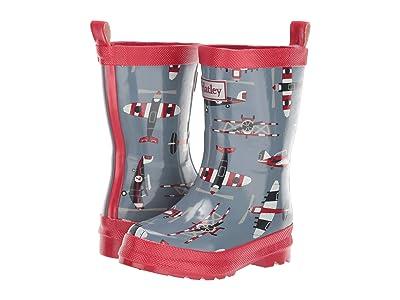 Hatley Kids Paper Planes Rain Boots (Toddler/Little Kid) (Blue) Boy